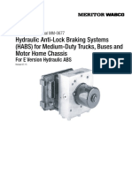 Hydraulic Anti-Lock Braking Systems (HABS) for Medium-Duty Trucks, Buses and Motor Home Chassisای بی اس وابکو