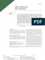 Endocardites infectieuses sur prothèse valvulaire