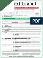 Tetfund Conference Nomination Form