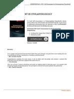 Read 9780323392907 Self Assessment in Otolaryngology Paperback