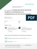 Perez-Malvez Etal - Teoria de La Deriva Continental y Teorias Rivales