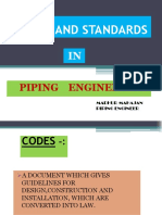Codes (Piping) Lecture 1