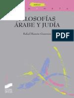 Filosofías Árabe y Judía (Thémata) - Rafael Ramón Guerrero