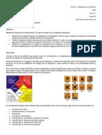 Seguridad en el laboratorio de química orgánica