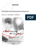 [OneShot] a Red String That Connects Us BTS Fanfiction Indonesia