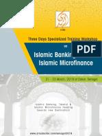 Islamic Banking, Takaful and Islamic Microfinance Training