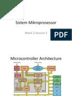 Sistem Mikroprosessor - W2S1
