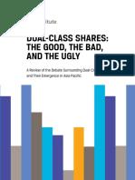 Apac Dual Class Shares Survey Report
