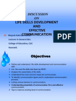 Life Skills&Communication Ppt