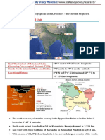 Indian Geography (Advanced)