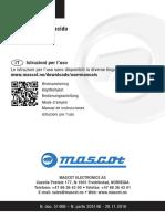 Mascot - Istruzioni Caricabatterie Lead Acid (ITA)