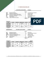 HORARIO Teología Bachiller 18-19