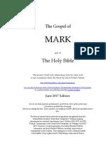 Gospel of Mark - Greek