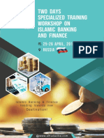 Two Days Specialized Training Workshop on Islamic Banking and Finance in Russia
