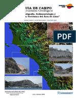 Guia de Campo Excursion Geologia LIMA PERU 2006