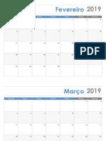 Calendário (2019.1)