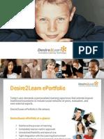 Desire2Learn ePortfolio Overview