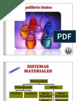 Equilibrio Iónico, Teoría Ácido-base, PH y POH Maury