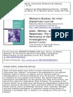 Islam, Women, And Western Responses