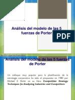 Análisis Del Modelo de Las 5 Fuerzas Competitivas