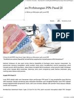 Iuran BPJS Dalam Perhitungan PPh Pasal 21 - Drs. J. Tanzil & Associates