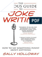 The Serious Guide to Joke Writing - Sally Holloway
