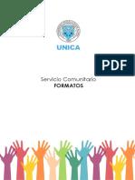 Servicio Comunitario FORMATOS
