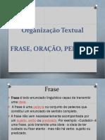 Organização Textual Slides