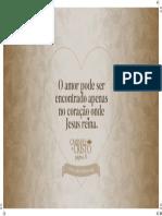 Caminho a Cristo53 o Amor Pode