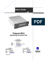 Flatpack1500 - MCU User Manual