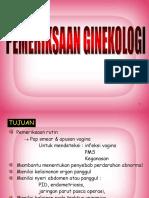 pemeriksaan ginekologi - disti