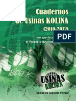 Cuadernos Usina Kolina 2010 - 2012