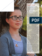 Sarah Chess in Gentry Magazine, October 2010