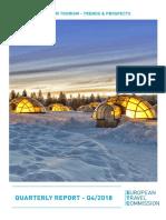 Ευρωπαϊκές τάσεις και προοπτικές τουρισμού - 4ο τρίμηνο 2018