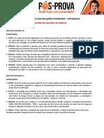 MRE Comentário Noções de Direito Aragonê Fernandes Diplomata