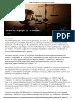 Análise Do Anteprojeto de Lei Anticrime _ Critica Nacional