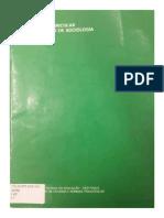 Proposta Curricular Para o Ensino de Sociologia 2º Grau (1992)