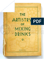 1936-The Artistry of Mixing Drinks