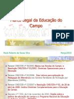 Marco Legal da Educação do Campo