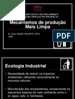 Aula 1-Mecanismo de produção Mais Limpa