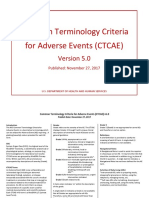 CTCAE v5 Quick Reference 5x7