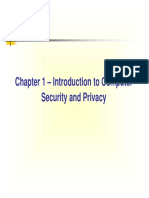Chapter 1-Introduction to Computer Security