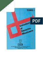 Introducción Al Derecho Mexicano - Varios Autores