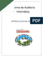 Informe de Auditoría Informática g