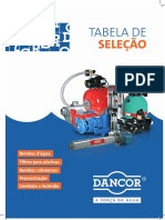 Tabela Selecao Dancor 2017