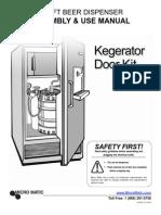 Kegerator Door Kit-use Manual