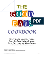GoodEatsCookbook - Alton Brown