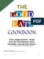 GoodEatsCookbook - Alton Brown