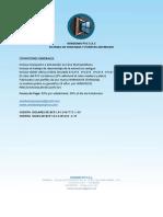 Ficha Tecnica - Informacion de Los Productos