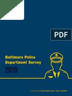 BPD Survey 2019
